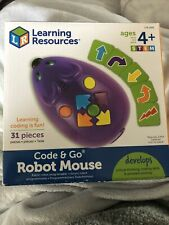 Learning Resources Ler2841 Code and Go Robot Mouse Activity Set - 31 Piece
