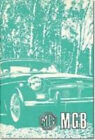 MG MGB Tourer and GT: Owners' Handbook by Brooklands Books Ltd