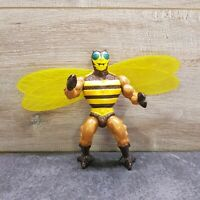 "Vintage 1983 He-Man MOTU BUZZ OF BEE MAN 6"" Action Figure By Mattel - Rare"
