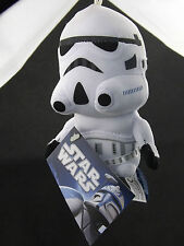 Star Wars Stormtrooper Plush Toy Caricature BackPack ClipOn Key Ring Car Mirror
