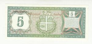Aruba 5 florin 1986 UNC @ low start