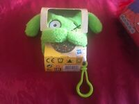 1 x UGLY DOLLS TO GO CLIP ON PLUSH OX SOFT TOY NEW