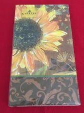 Sunflower Paper Guest Hand Napkins Disposible Garden Party Napkins 15 Napkins