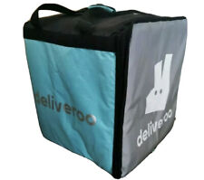 Deliveroo Large Thermal Backpack Takeaway Bag Insulated Top Loading