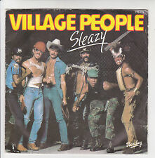 VILLAGE PEOPLE Vinyl 45T SLEAZY - SAVE ME (up-tempo) BARCLAY 128111  F Reduit