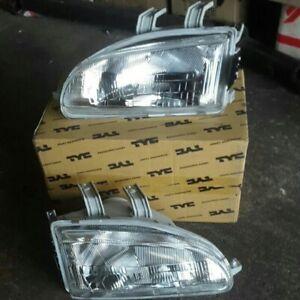 Honda Civic EG6 EG9 Headlight Headlamp Head Light Lamp 1 Pair LH RH NEW