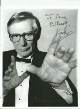The Amazing Kreskin Autographed Picture 8 1/2 in X 11 in.