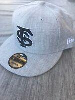 New Era Florida State Seminoles 9FIFTY SnapBack Flat Bill Hat Cap FSU Grey Gray