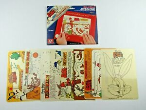 Vintage 1981 BUGS BUNNY and THE ROAD RUNNER - ETCH-A-SKETCH Action Pack