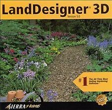 LandDesigner 3D 5.0 Jewel Case (PC, 2000)