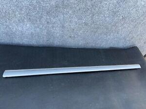 ✔MERCEDES W220 S430 S500 S55 FRONT RIGHT PASSENGER SIDE DOOR TRIM SCUFF TRIM OEM