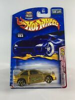 Hot Wheels Vintage Blue Card - CREASED Ford Escort Rally Gold - BOXED SHIPPING