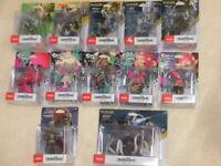 Nintendo amiibo Zelda & Splatoon series Link Octling Super Smash Bros Japan