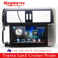 "8"" Car DVD GPS Nav Multimedia Stereo For Toyota Land Cruiser Prado 2009-2013"