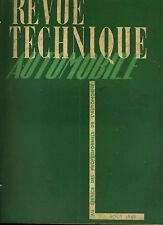 (C16bis) REVUE TECHNIQUE AUTOMOBILE TALBOT / Tableau atelier ALIMENTATION
