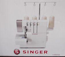 SINGER Sewing Machine overlock modello 14SH754 2/3/or 4 fili (Nuovo) nella casella