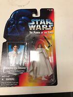 Star Wars Princess Leia Organa w Laser Pistol POTF Action Figure 1995