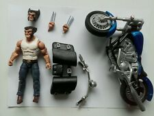 MARVEL LEGENDS  WOLVERINE with MOTORCYCLE  *LOOSE*