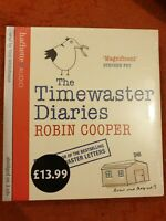 paul whitehouse The Timewaster Diaries: robin cooper CD Audio Book New Sealed