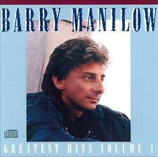 BARRY MANILOW - Greatest Hits Vol.1 (CD 1989) USA First Edition EXC OOP Best of