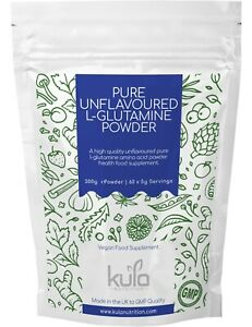 L-Glutamine Powder Pure Unflavoured - 300g (60 Servings) Muscle & Tissue Repair