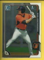 Mike Yastrzemski RC 2015 1st Bowman Chrome Prospects Rookie San Francisco Giants