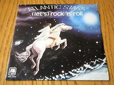 "ATLANTIC STARR - (LET'S) ROCK 'N' ROLL  7"" VINYL PS"