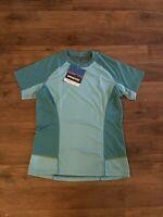 Patagonia Runshade UPF 30 Women's Size Medium Blue Shirt Athletic NEW NWT Sun