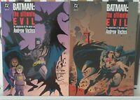 Batman: the Ultimate Evil 1 2 Complete Set Series Run Lot 1-2 VF/NM