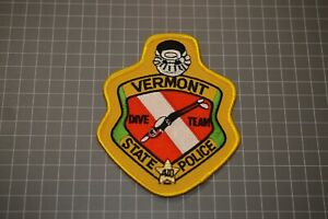 Vermont State Police Dive Team Patch (B17-Z)