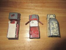 Vintage Lesney Matchbox #14 Lcc Ambulance, Fire Pumper Truck, Pick up Truclk