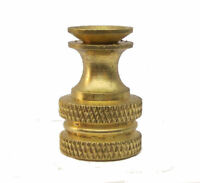 BRASS LAMP SHADE FINIAL BASE- MAKE YOUR OWN    TV-1375