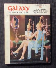 1955 Jan GALAXY Science Fiction Digest Magazine VG/FN 5.0 Frederick Pohl