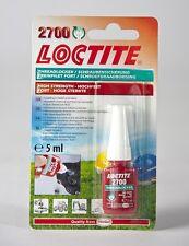 Loctite 2700 Oem especificado Alta Resistencia Hilo Lock & Sellador 5ml stud/nutlock