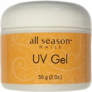 All Season UV Nail Gel Pink 2 oz / 56 g