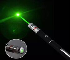 Bright Green Laser Pointer Pen 1mW laserheads Lazer fascio di luce UK STOCK!!!