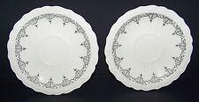 New listing Teacup Plates Saucers Mayfair Cctp Co Usa Set of 2