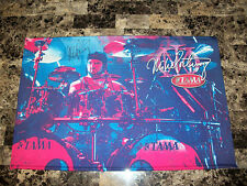 Mike Portnoy Rare Signed Promo Poly Banner Display Dream Theater Winery Dogs COA