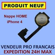 ✖ NAPPE INTERNE BOUTON HOME IPHONE 4 ✖ FLEX RIBBON ✖ NEUF GARANTI ✖ ENVOI 24H