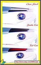 08-14 WRX STi 3rd brake light RED OUT TINT Overlays Vinyl HATCHBACK JDM REDOUT