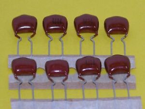 8pk - .033uf/50V Mylar (tm) Capacitors