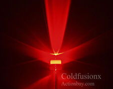 50x Giant 10mm 10 mm Red  LED LEDs Auto R6 R1