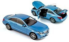 NOREV 2009 MERCEDES BENZ E500 COUPE BLUE METALLIC 1:18**Last One**