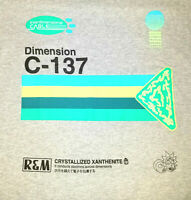 Rick and Morty Dimension C-137 Adult Swim Lootcrate Gray T-Shirt M EUC 40 Chest