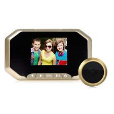 """3.5"""" Digital Peephole Door Viewer 140° Wide Angle Video Audio Camera Doorbell G"""