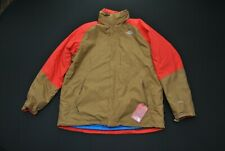 NWT The North Face Bonanza Triclimate Hy Vent Brown Jacket Men's XXL 2XL