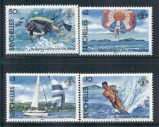 SEYCHELLES 551-54 SG597-600 MNH 1984 Water Sports set of 4 Cat$7