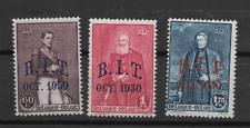 1930 MNH België, Belgique Mi 291-297