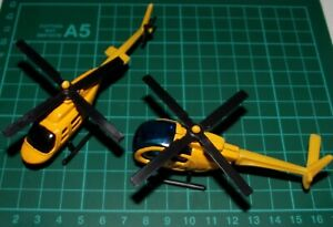 Two Small Yellow Helicopters #1