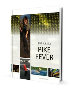 Pike Fever by Jens Bursell Book - Predator fishing - Ideal Christmas present